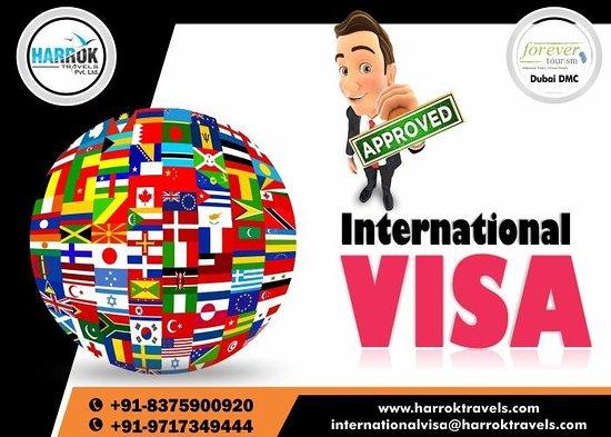 Harrok Travels: International Visa