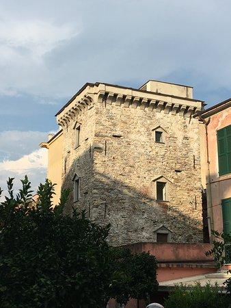 Torre Ravenna: Uno scorcio della torre dal giardino