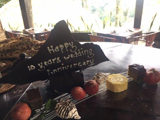 Nandini Jungle Resort & Spa Bali: Staff go to any lengths