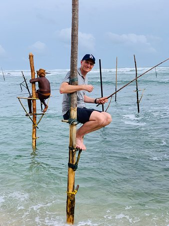 Fishing in Galle