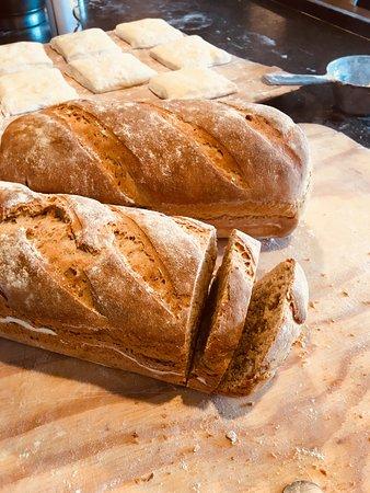 Freshly baked bread's