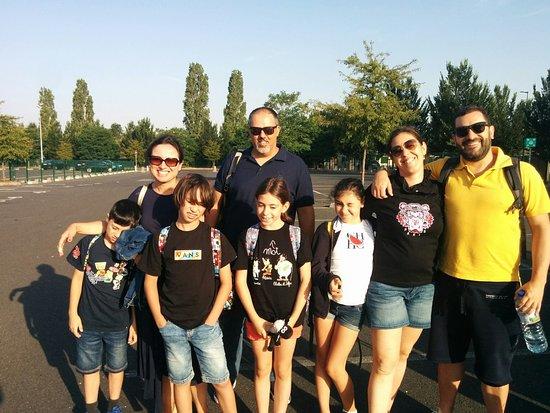 Mr. Tiago & his family