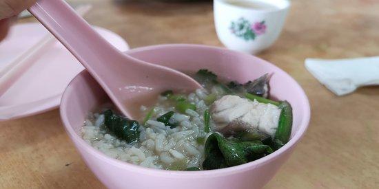 Nibong Tebal, Maleisië: fish porridge