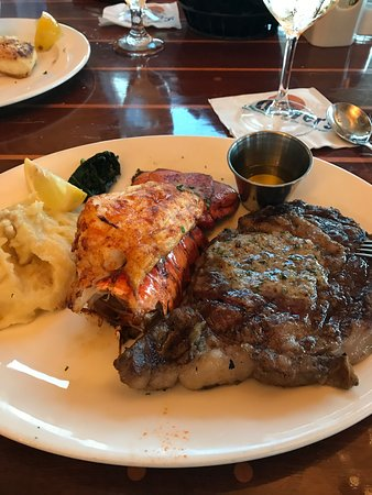 Oliver's on the Cape Fear: Surf and turf