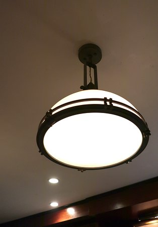 Peter Kern Library in The Oliver Hotel 407 Union Ave, Knoxville, TN - Antique Ceiling Lights