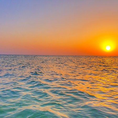 Scenic beauty of Shuwaihat Island