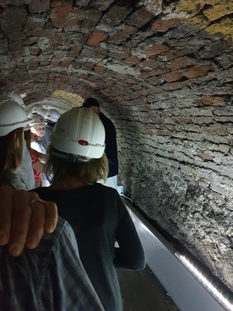 Top tour finding out about underground Newcastle with Phil and Ian