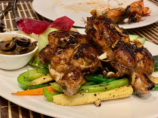 SeaFood Delights: Grilled Chicken