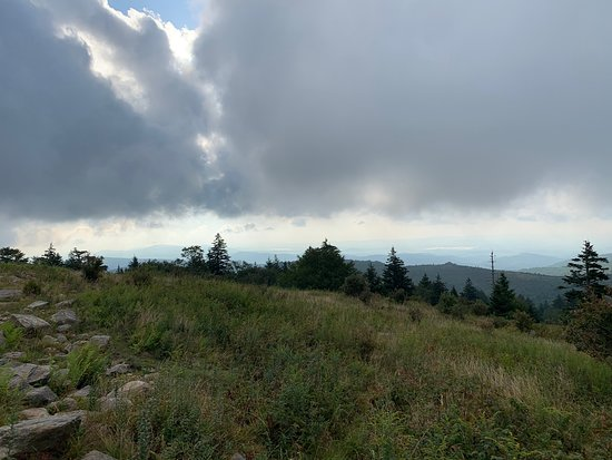 Grayson Highlands State Park: The highlands were very rugged and so beautiful