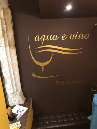 Aqua e Vino: Litt eksklusiv restaurant først og fremst med sjømat