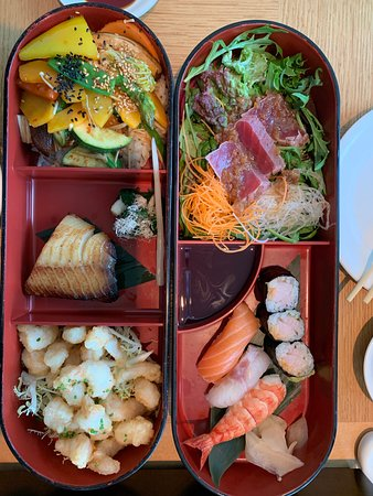 Nobu London: Bento box selection