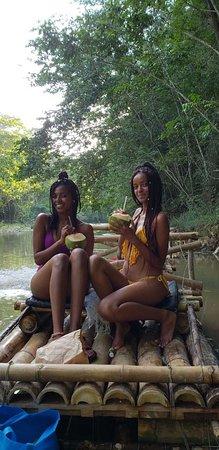 Lethe, Jamaica: Rafting/Fruits/Massage Excursion 🇯🇲🍍🌞