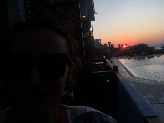 Sonnenuntergang, ein Traum