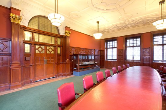The Boardroom at Fairfield where important decisions were made during the long history of the shipyard.