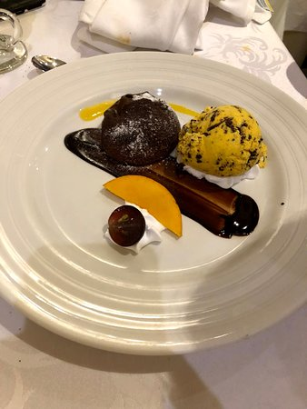 Bahia Principe Grand Coba: Le Gourmet Chocolate Fondant