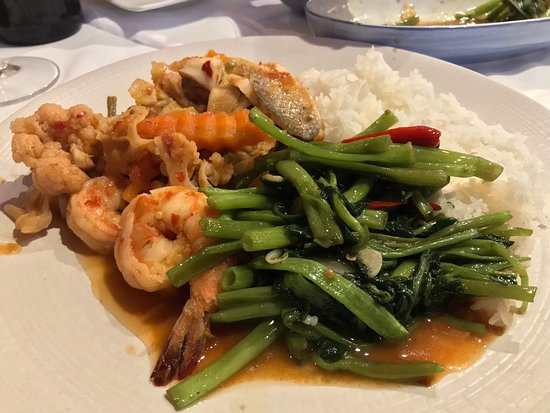 Excellent Thai food and great service