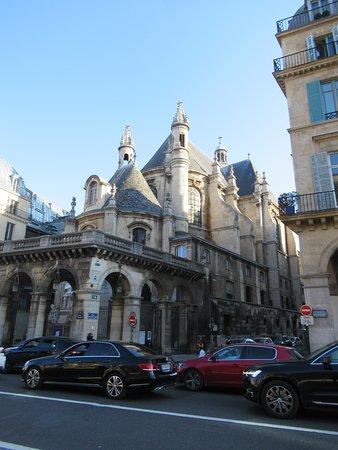 Le Temple Protestant De L'Oratoire Du Louvre: Arrière côté rue de Rivoli