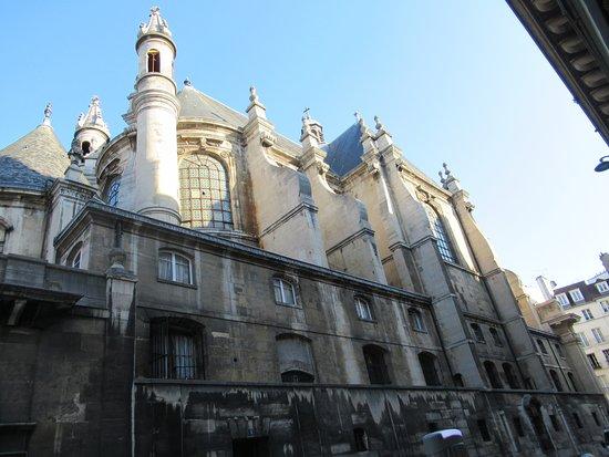 Le Temple Protestant De L'Oratoire Du Louvre: Latéral du Temple