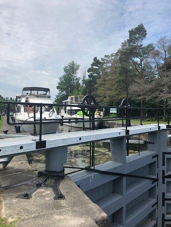 Boats at Lock 17