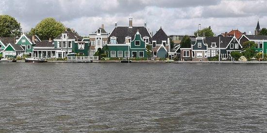Le città e i mulini dell'Olanda fanno un giro in autobus da Amsterdam: Molinos en Zaanse Schans