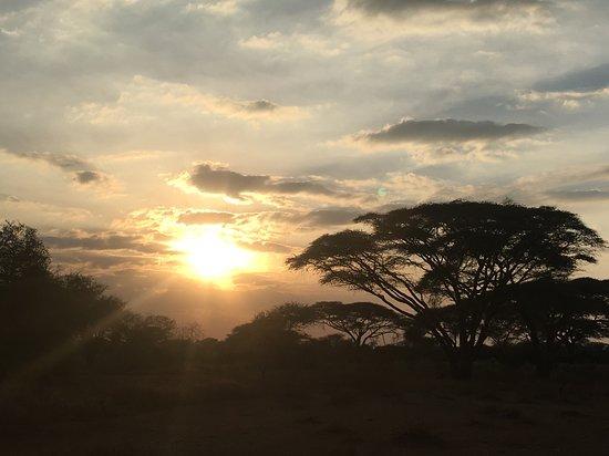 et toujours des couchers de soleil...