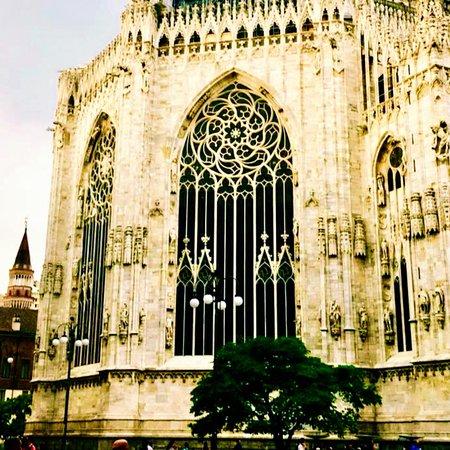 Cada parte del Duomo es magnífica...