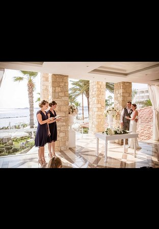 Unity terrace for our wedding ceremony.