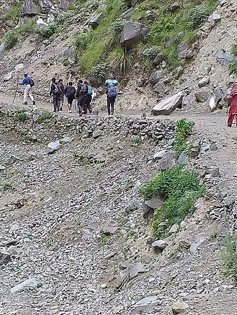People start their yatra to Manimahesh from Hadsar