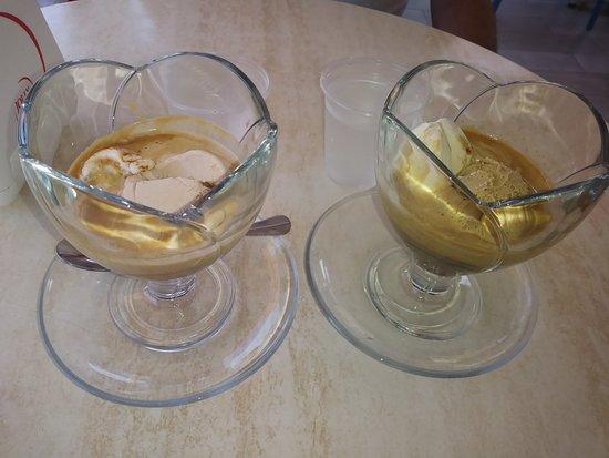 Affogati al caffè gradevolissimi