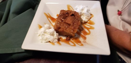 O'Hara's Public House: bread pudding, August 2019