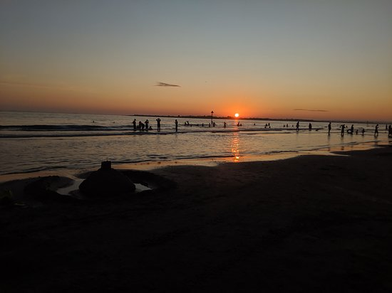 Sunset at West Wittering