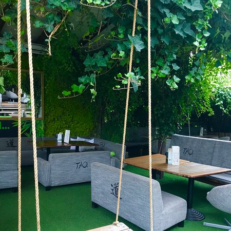 Great place for Thai food & Sushi. We have visited it with Finebite application (50% discount for menu excl.drinks) and we can say that the food is delicious, service is caring and atmosphere with rabbits and green grass is amazing.