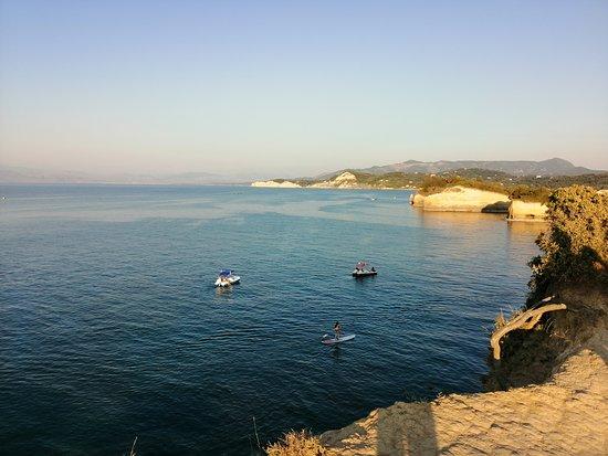 Kanal ljubavi Sidari - Corfu - Greece   Mirno more