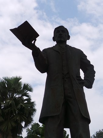 Rizal statue by his museum