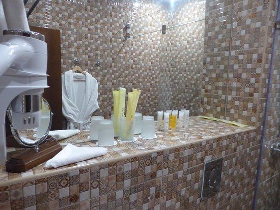 free toiletries