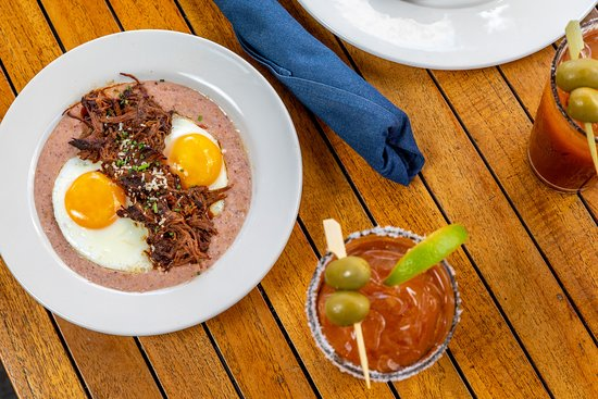Corner's patio is the perfect spot to indulge in brunch.