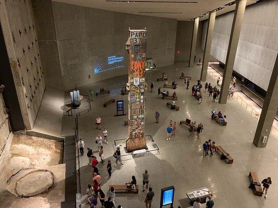 9/11 Memorial Museum Admission Ticket: le seul pilier qui a tenu debout !