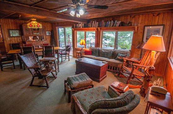 Vintage Vermilion - Cabins and Retreat: Main Cabin Living Area
