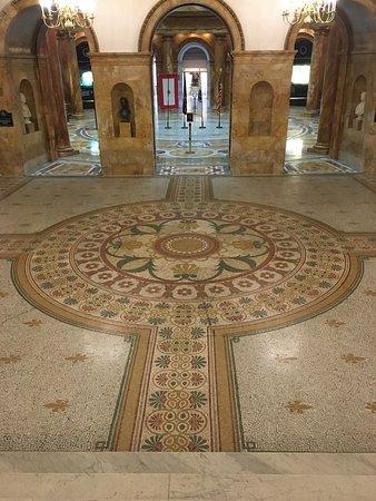 Mosaic Marble Floor
