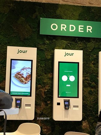 Borne de commande chez Jour - Bercy, 45 Cour Saint-Émilion, Bercy Village, 75012 Paris