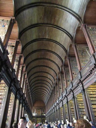 Skip the Line: The Book of Kells Exhibition & Old Library Admission Ticket: Long room