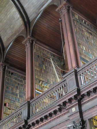 Skip the Line: The Book of Kells Exhibition & Old Library Admission Ticket: Bookshelves