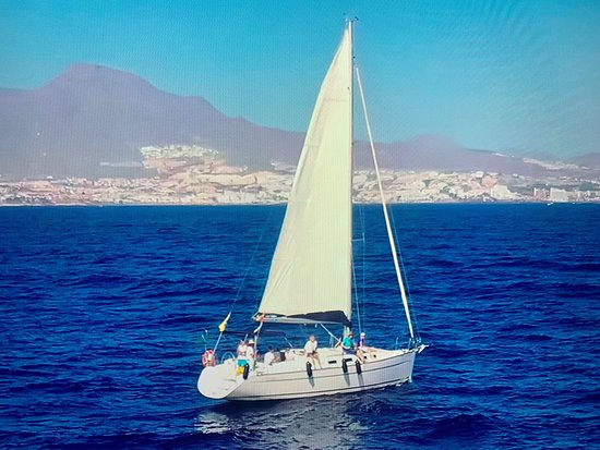 Tenerife Sailing Charters: Eine tolle Walsafari mit dem erfahrenen Kapitän von Sea Qest Sailing - tolle Aufnahmen bei der Walverfolgung mit der Drohne. Siehe YouTube suche: Alfons Nassal - Viel Spaß und Gruß an den Hafen von Adeje