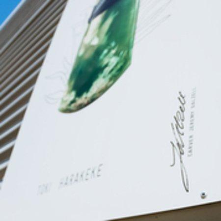 Shades of Jade -signage