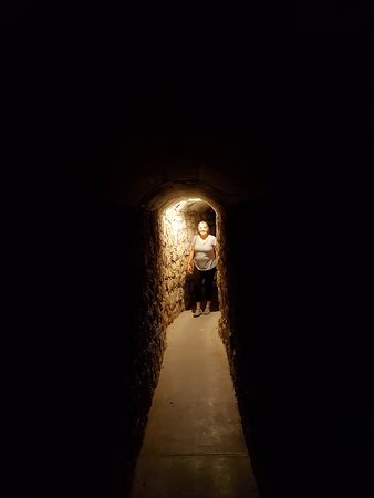 Meade, KS: The  hideout tunnel