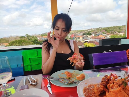 Mama Chew 360 Rooftop Jimbaran Bali: Mr/Mrs Jannis Espion ( Spain )