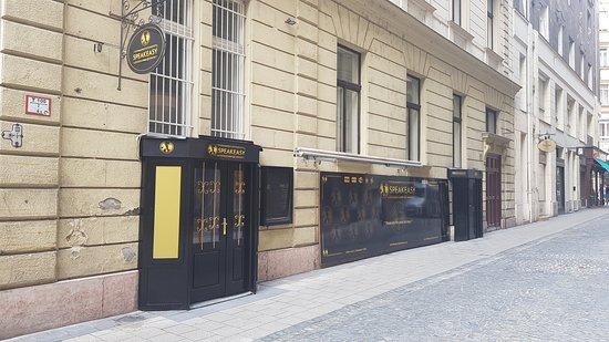 Budapešť, Maďarsko: Main Entrance