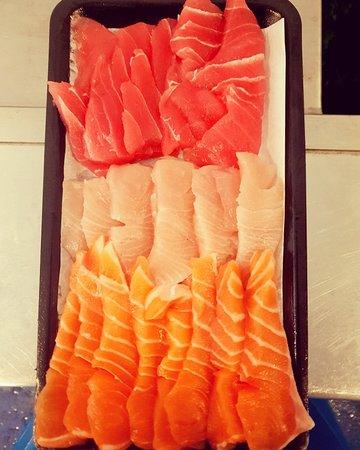 Get Shucked Fresh Seafood Market: Fresh Sashimi trays