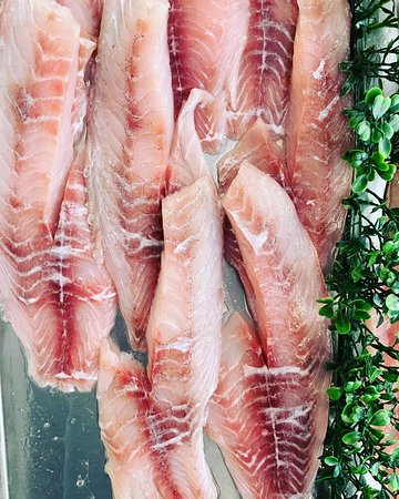 Get Shucked Fresh Seafood Market: Locally caught black bream fillets