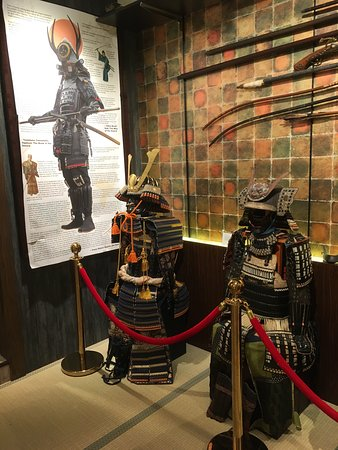 Kjoto, Japan: Samurai museum in Kyoto. Highly recommended to visit. Both, informative and fun